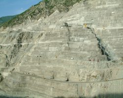Artvin Deriner Dam Turkey 2001-2003