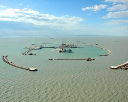 Bautino-Artificial-Island-Project-1,-Kazakhstan