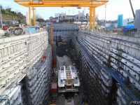 Eurasia-Tunnel-Asian-Transition-Box-Excavation-Support-System-Works,-Turkey-2013-2014