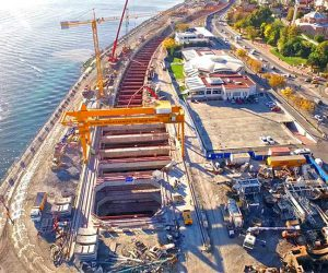 Eurasia-Tunnel-European-Transition-Box-Excavation-Support-System-Works