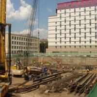White Square Office Center Project 1, Russia, 2006-2007