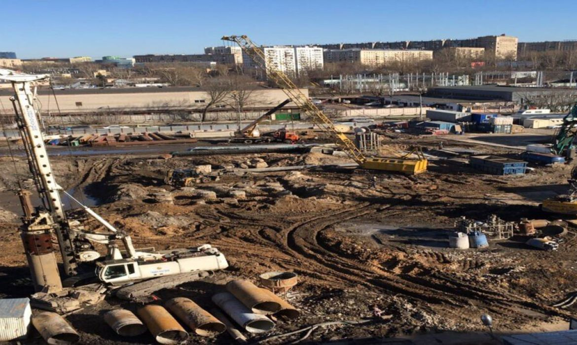 The Filicity Residential construction foundation pile project completed successfully.