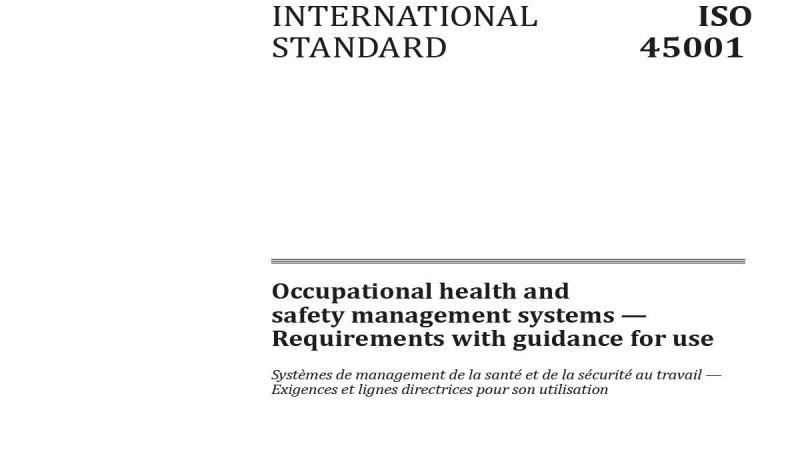 Geoteknik Alanında ISO 45001:2018 İş Sağlığı ve Güvenliği Yönetim Sistemi'ne Geçiş