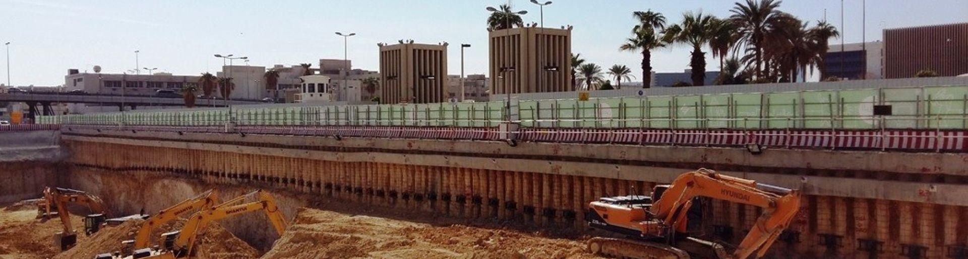 Riyadh Metro Projesi Kazık ve İksa İşleri
