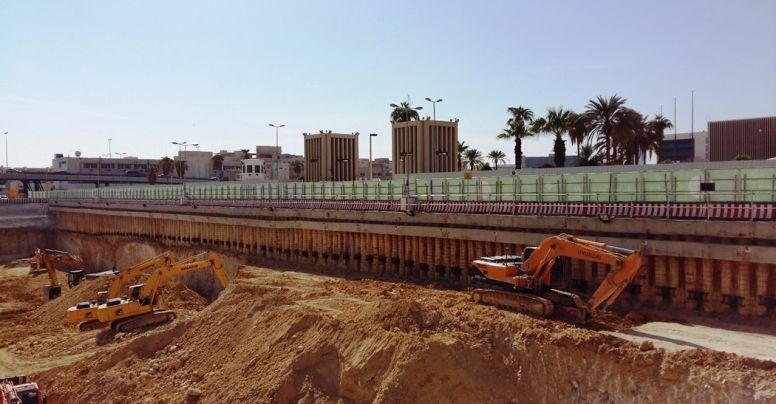 Riyadh Metro Project Piling and Shoring Works
