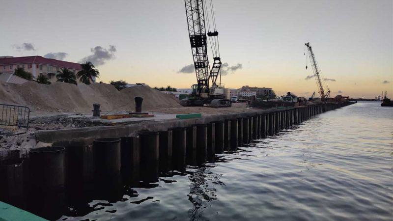 Prens George Wharf Nassau Liman Projesi