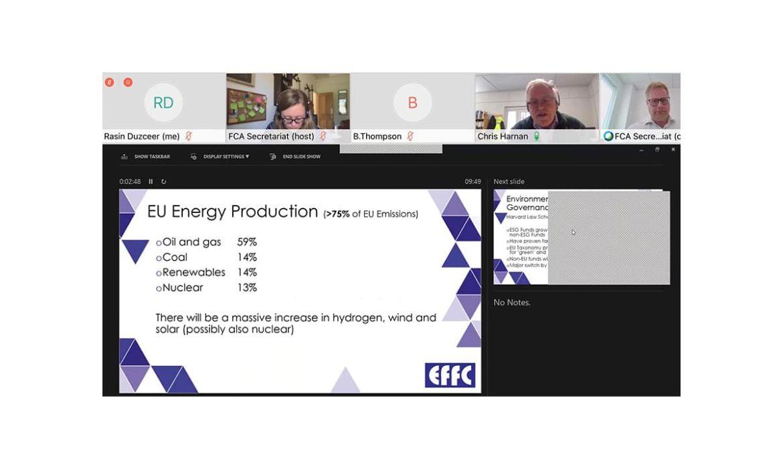 EFFC اجتماع اللجنة التنفيذية