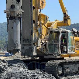 Filyos Limanı ve Doğalgaz Kara Üretim Tesisi Zemin İyileştirme İşi