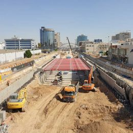 Tahliyah Underpass Project