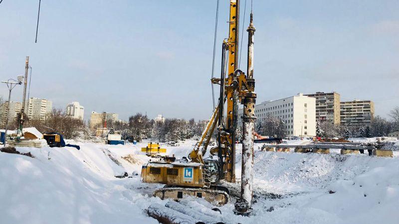 Kasktaş, Moskova'daki Michurinsky konut inşaatı projesinde test kazık imalatlarına başladı.