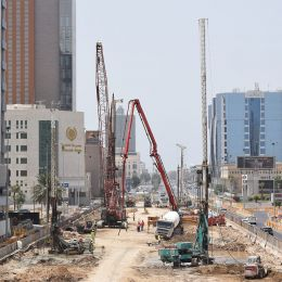 Maad Otel Kuleleri, Bureyde Yağmur Suyu Projesi, King Abdulaziz Yol Projesi Zon 5 ve Tahliyah Altgeçit Projesi