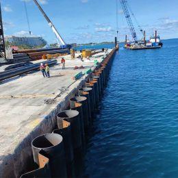 مشروع ميناء الأمير جورج وارف ناسو، جزر البهاما