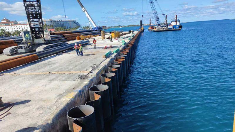 Prince George Wharf Nassau Port Project, Bahamas