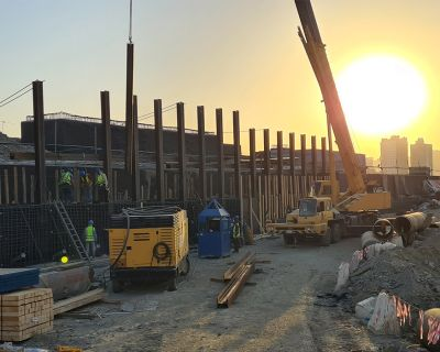 Masar Project Package-A Shoring Works