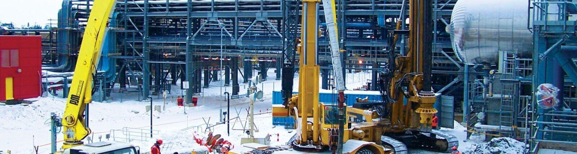 On-Shore Processing Facility, Sakhalin Island