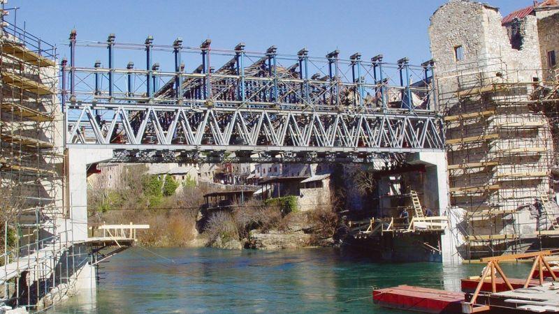 Mostar Köprüsü Renovasyonu