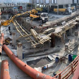 FINAL EXCAVATION LEVEL HAS BEEN REACHED at the MANDARIN ORIENTAL BOSPHORUS HOTEL PROJECT