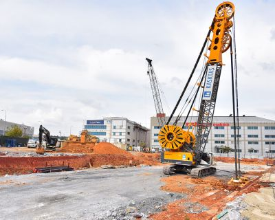 CSS Metro Project S21B Structure Diaphragm Wall Works