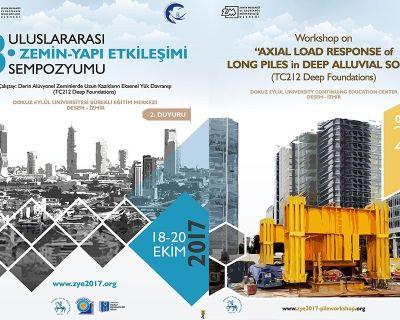 """""""3. Uluslararası Zemin-Yapı Etkileşimi Sempozyumun"""" ve Çalıştay"""