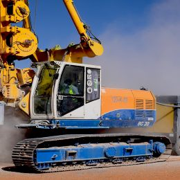 Drilling works have commenced at 405 MW Sakaka Photovoltaik Independent Power Project