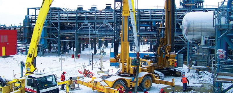 On-Shore Processing Facility, Sakhalin Island