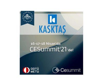 KASKTAŞ 16-17-18 Nisan'da CESummit'21'de!