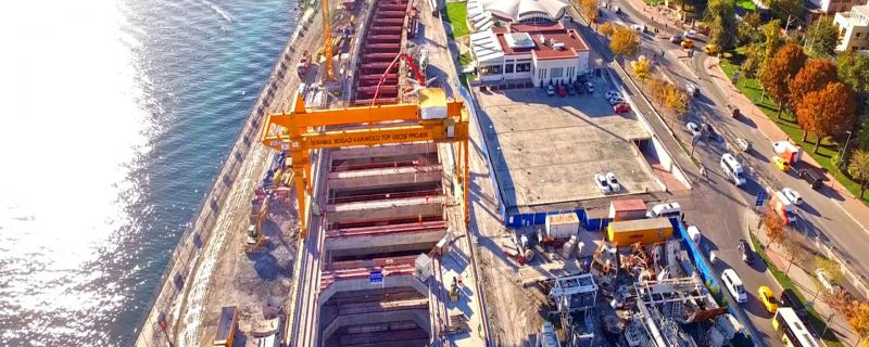 Eurasia Tunnel – Istanbul Strait Road Tube Crossing Project